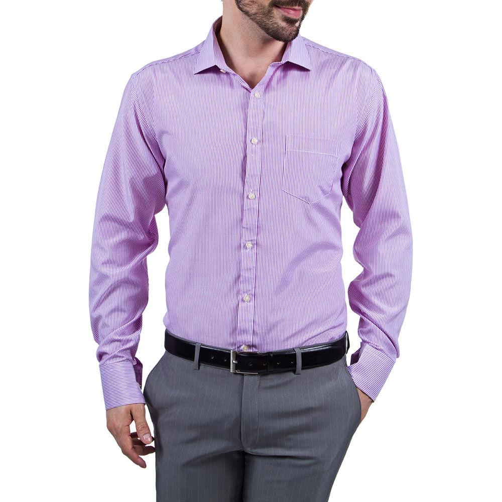 camisa social masculinas lil s listrada   camisaria colombo
