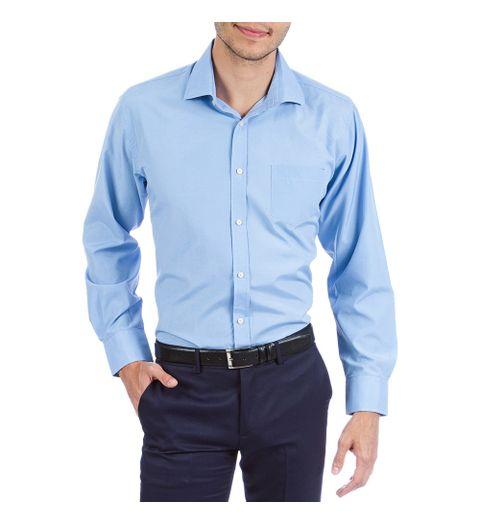 Camisa Social Feminina Cor Principal Azul Camisa Social 619d073f7b2