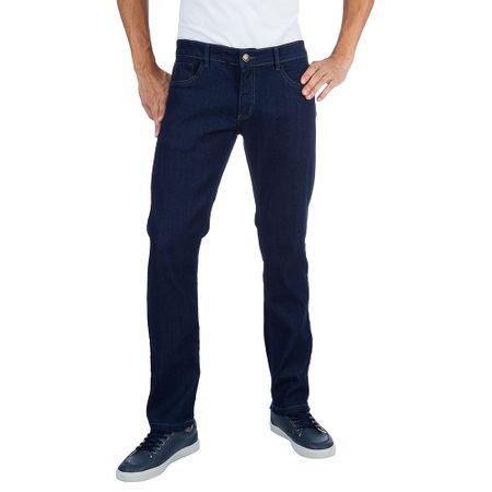 Calça Jeans Masculina Azul Marinho com Elastano Upper