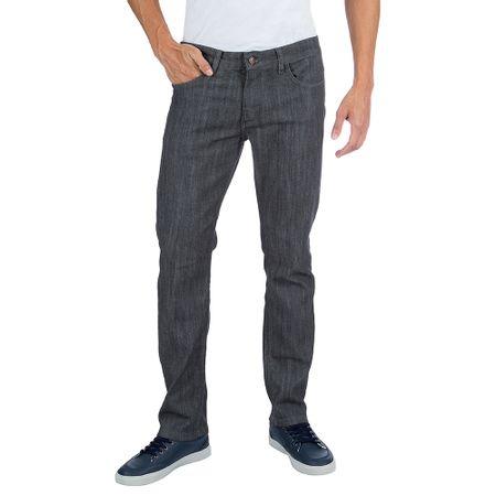 Calça Jeans Masculina Cinza com Elastano Upper