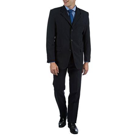 Terno Masculino Azul Marinho Liso