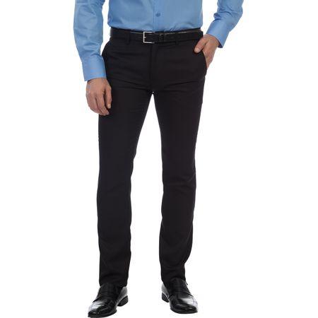 Calça Social Masculina Preta Texturizada