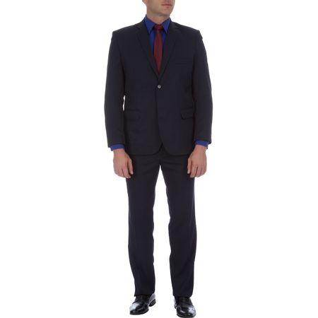 Terno Masculino Azul Marinho Texturizado