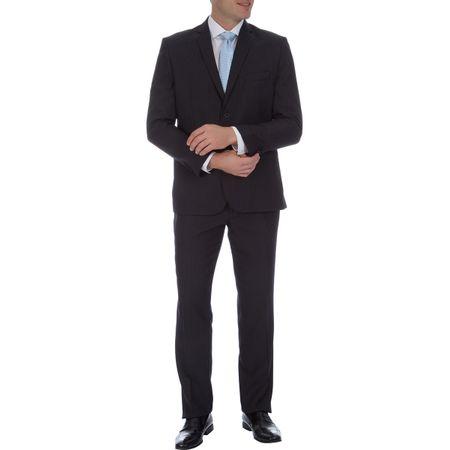 Terno Masculino Azul Risca de Giz