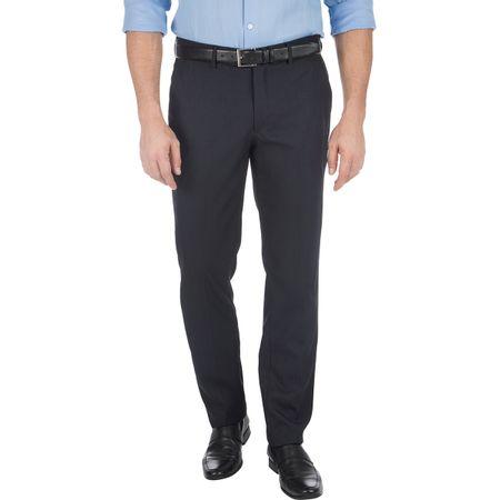 Calça Social Masculina Azul Marinho Texturizada