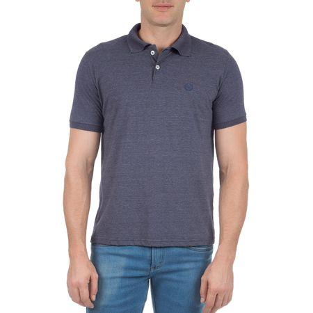 Camisa Polo Masculina Azul Marinho