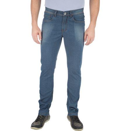 Calça Jeans Masculina Azul com Elastano