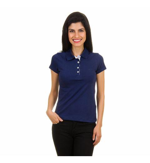 eea95e7053ec7 Camisa-polo-feminina-azul-marinho-lisa-121211340000177 – Camisaria ...