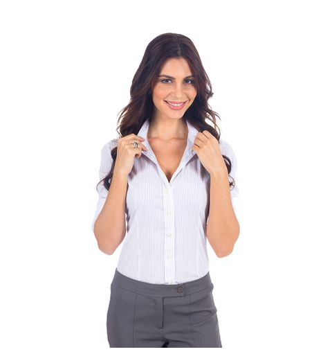 230412799d719 Busca por camisa social feminina lisa cinza