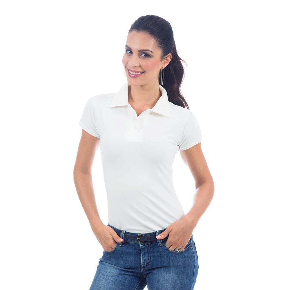 6c388374ab PRODUTO ADICIONADO A SACOLA. Camisa Polo Feminina ...