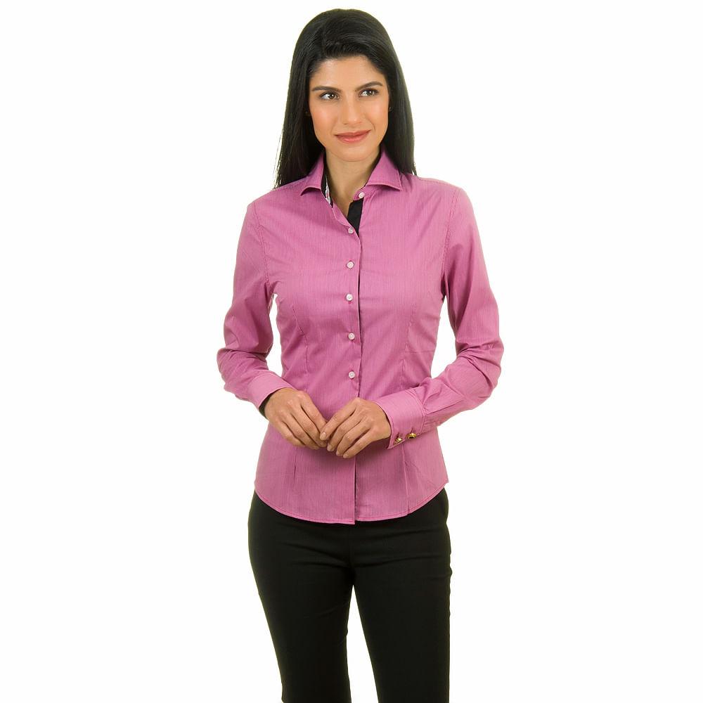 ec9f522ed Camisaria Colombo · Roupas · Feminino · Camisa. Camisa-Rosa ...