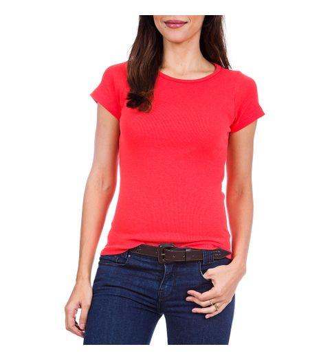 f19b5babc1 Camiseta Feminina Laranja Lisa