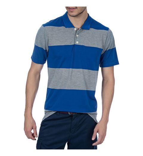6334b7ba7a camisa social manga curta azul escuro - Camisaria Colombo