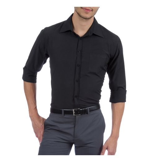 cea3bc16bf Resultados para  camisa social masculina lisa gg preta