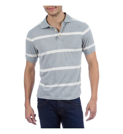 camisa polo masculina listrada gg - Camisaria Colombo  7b34141e76415