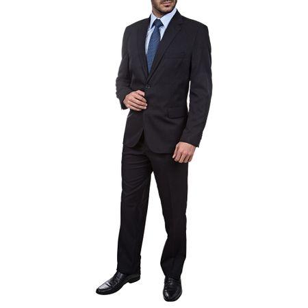 Terno Preto Texturizado Masculino