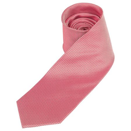 Gravata Masculina Vermelha Texturizada