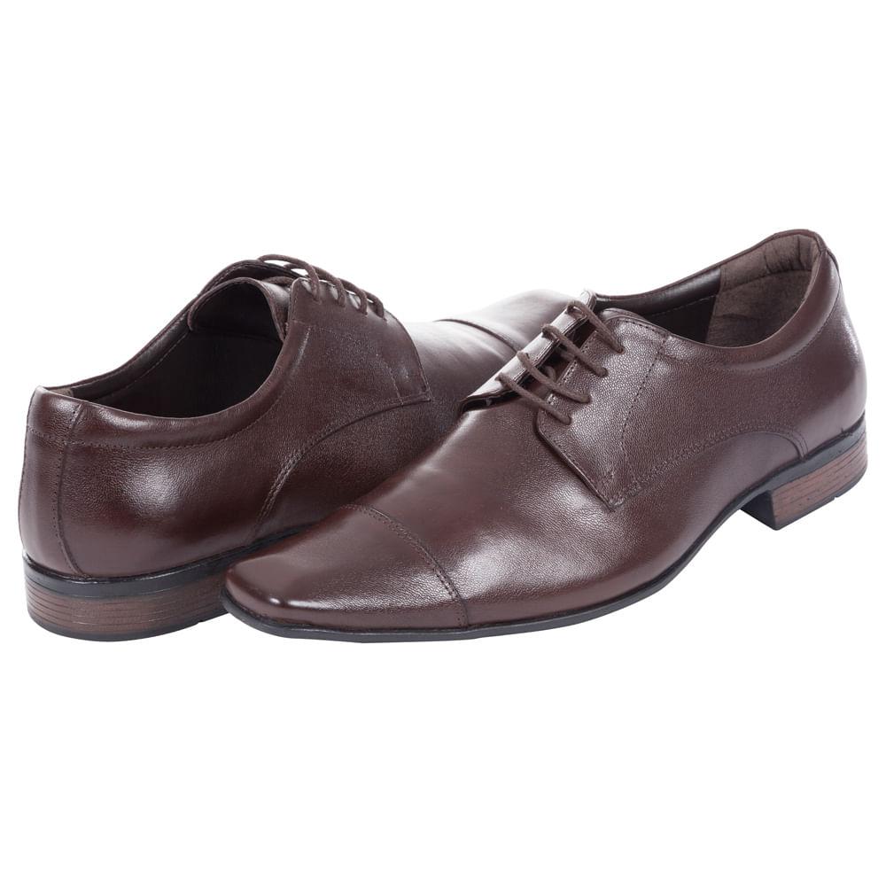 d672aea67 Sapato Social Masculino Marrom - Camisaria Colombo