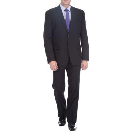 Terno Masculino Preto Liso