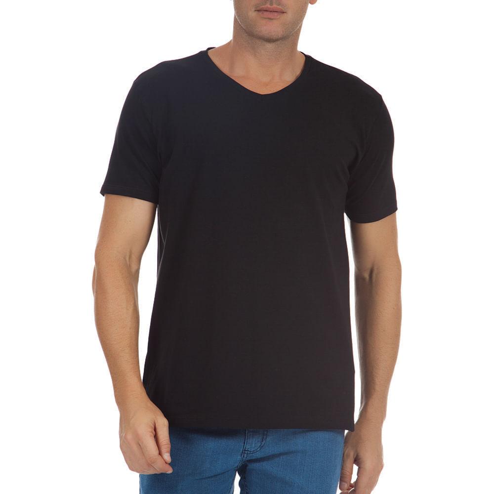 PRODUTO ADICIONADO A SACOLA. Camiseta Masculina Preta Lisa Upper f45355121f620