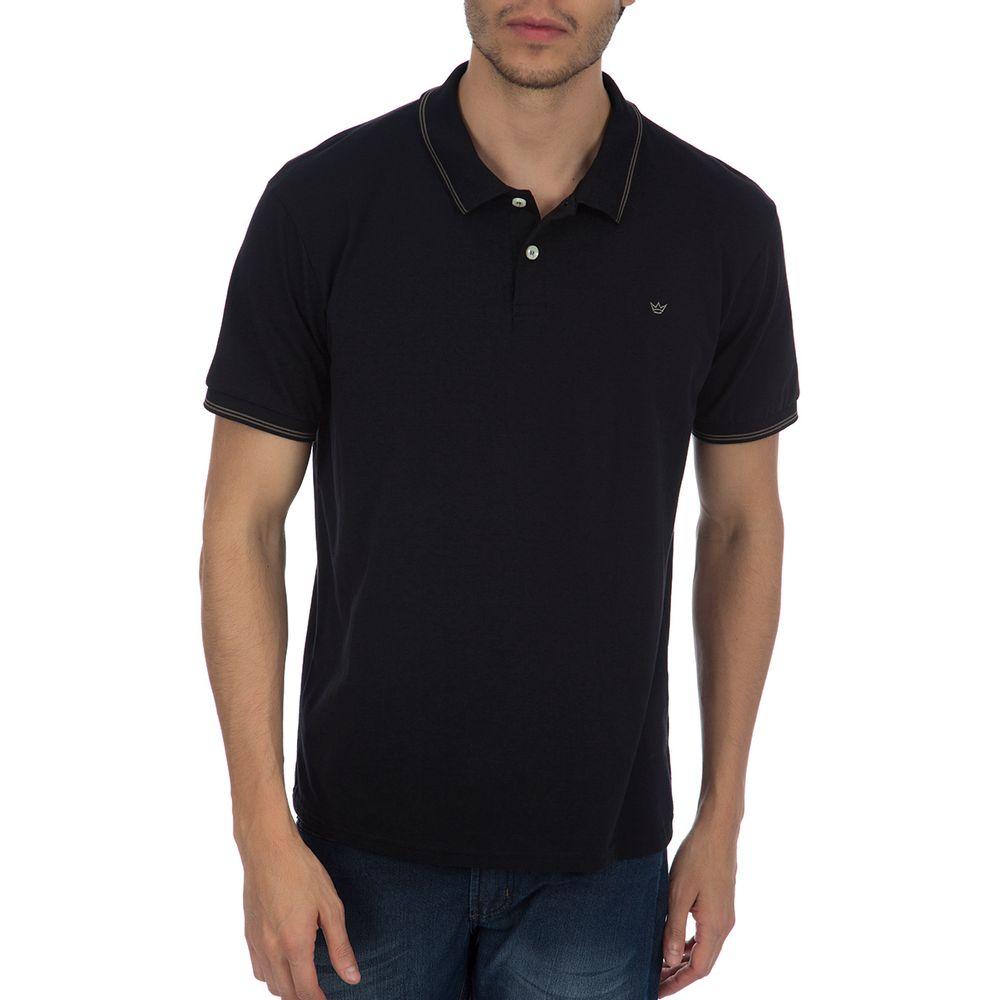 PRODUTO ADICIONADO A SACOLA. Camisa Polos Masculina Preta ... 6479f1f7fe826