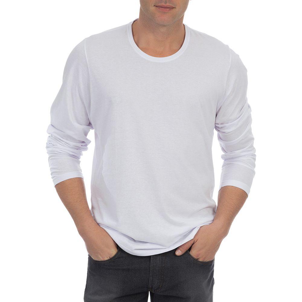 PRODUTO ADICIONADO A SACOLA. Camiseta Masculina Branca Lisa 7c73e51b69ca1