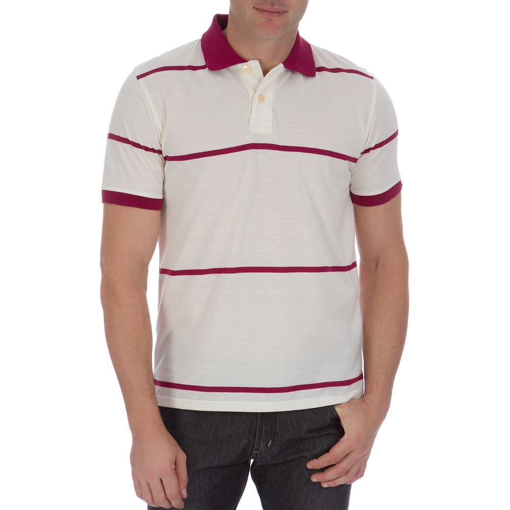 PRODUTO ADICIONADO A SACOLA. Camisa Polo Masculina Vinho Listrada f285c6d109eed