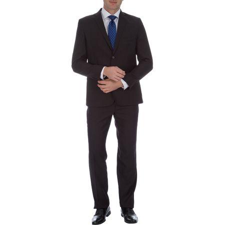 Terno Masculino Preto Texturizado