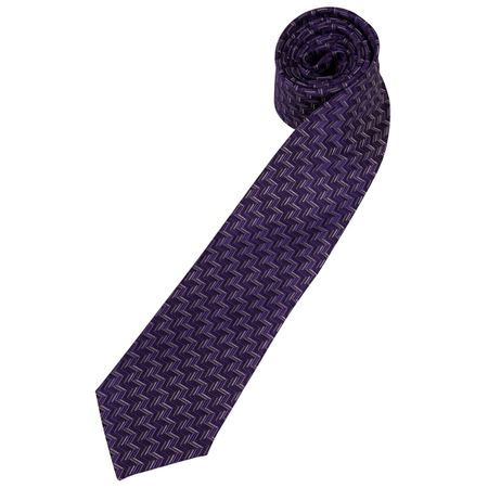 Gravata Roxa Estampada
