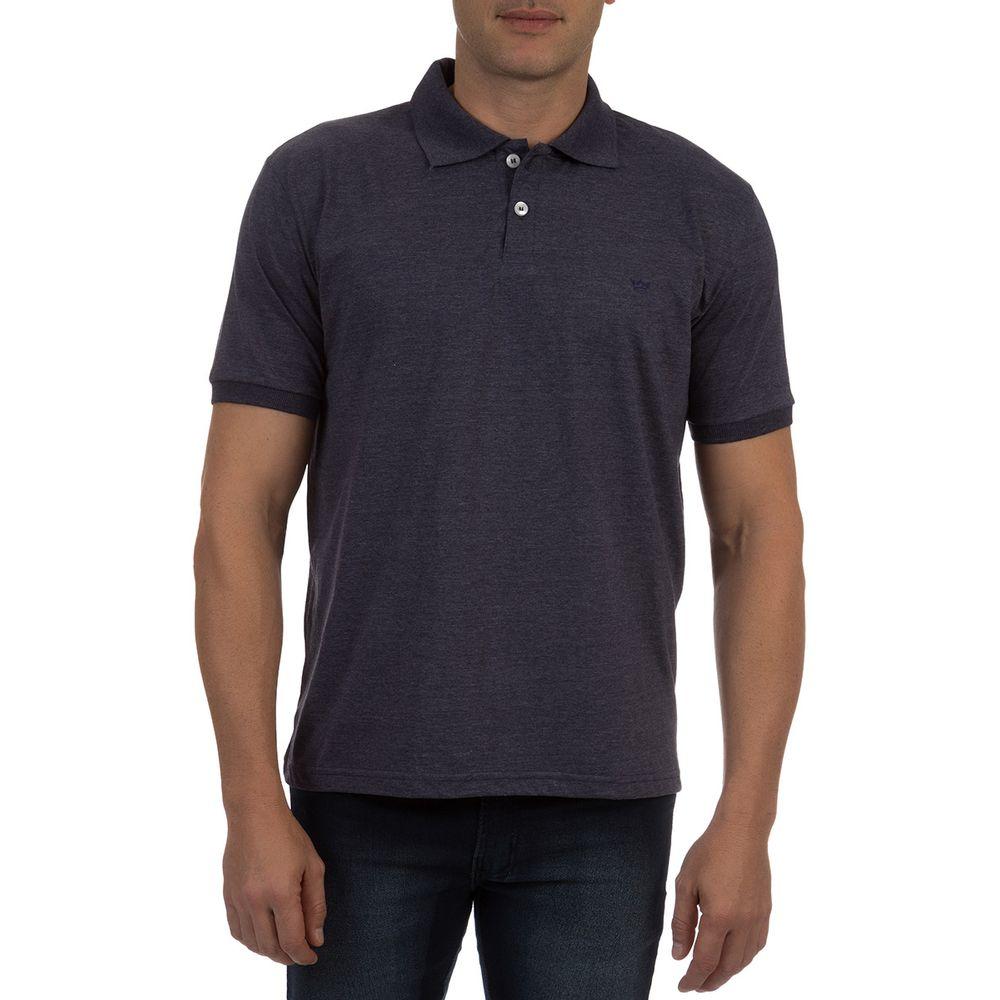 Camisa-Polo-Masculina-Azul-Marinho-12121187900017O - Camisaria Colombo 91ccdc5694c08