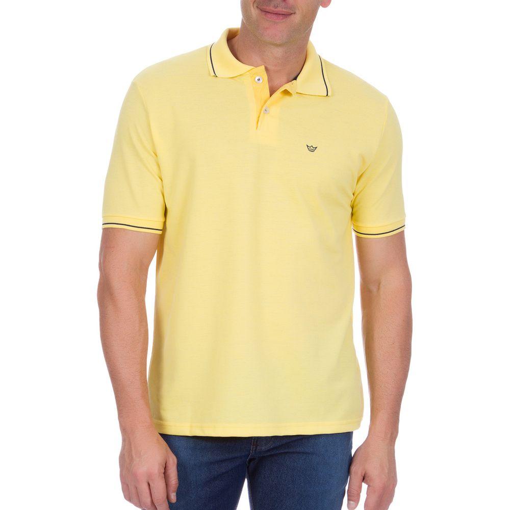 PRODUTO ADICIONADO A SACOLA. Camisa Polo Masculina Amarela ... e4ea6549703bf