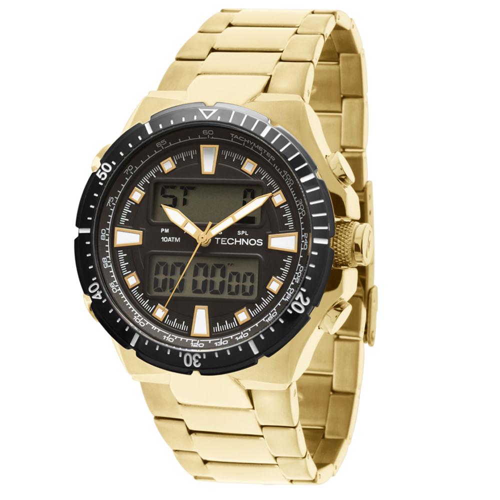 Relógio Technos Ts Digiana Masculino Ana Digi - 0527AB 4P ... 2a34bda47d