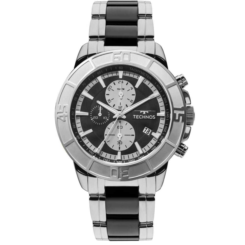 Relógio Technos Ceramic Masculino JS15EU 1P - Camisaria Colombo fdd345dc43