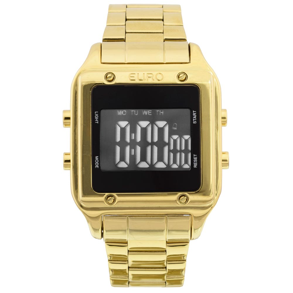 2d41f993114cb Relógio Euro Feminino Fashion Fit EUG2510AA 4P - Dourado - Camisaria ...