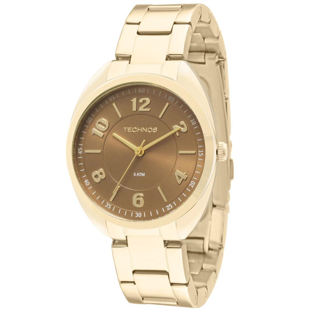 a8ee5931f8329 Relógio Technos Dress Feminino Analógico - 2035MCF 4M - Camisaria ...