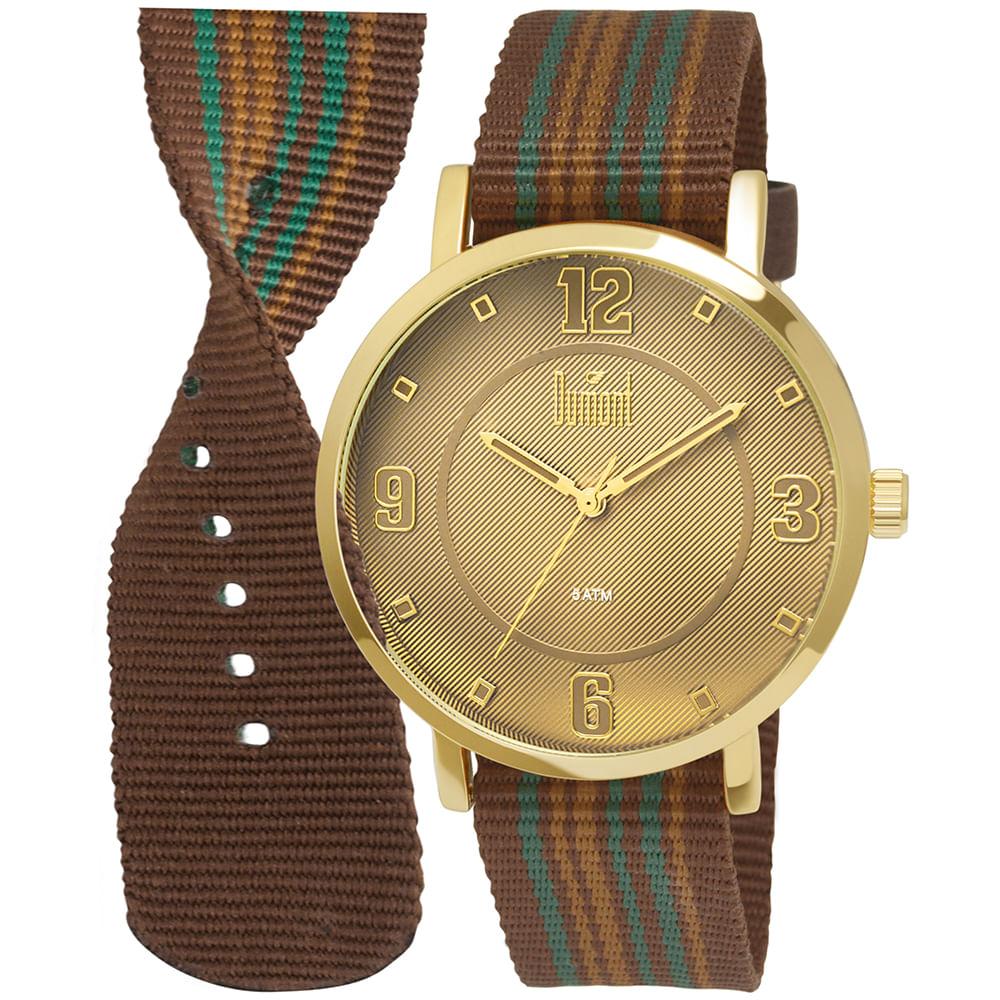 254b707558c Relógio Dumont Berlim DU2036MFD 2B - Camisaria Colombo