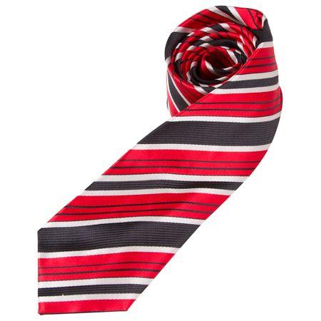 Gravata Vermelha Listrada