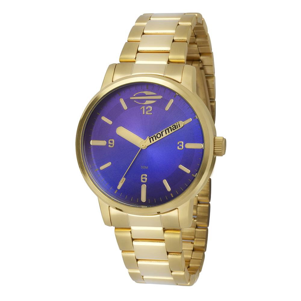 835a9db5a6760 Relógio Feminino Mormaii Maui Dourado - MO2035CN 4A - Camisaria Colombo