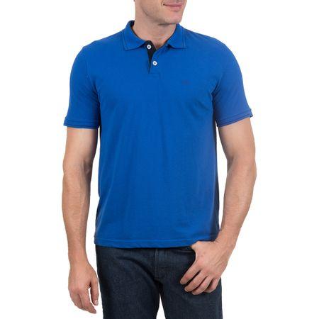 Camisa Polo Masculina Azul