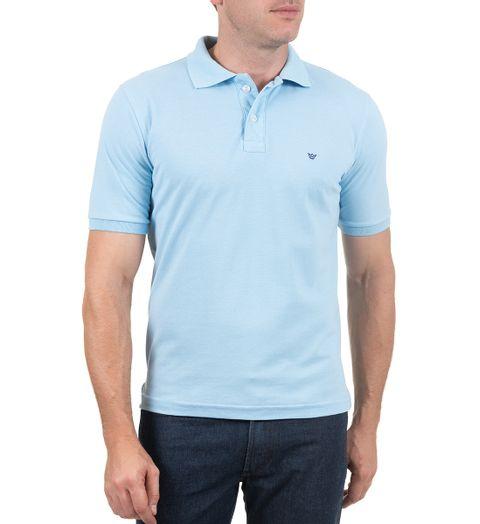 Camisa Polo Masculina Azul f159aeaf7d5e3