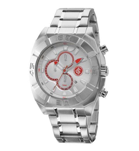 Relógio Internacional Masculino Analógico Prata - INTOS10AA 3R 9a77aedf9ec97