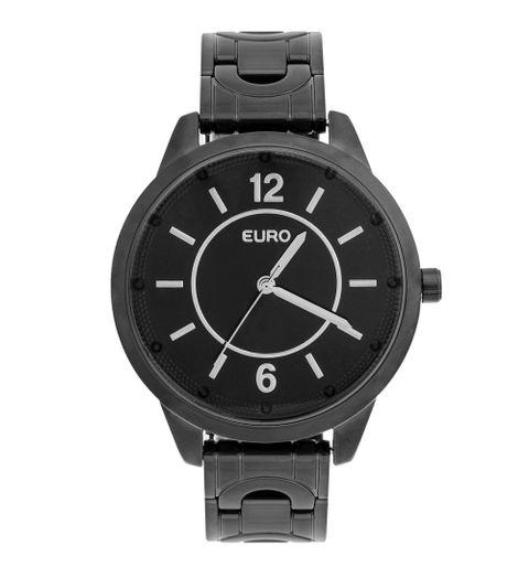 b605fb5e82f Relógio Euro Feminino Braceletes EU2036YLA 4P - Preto