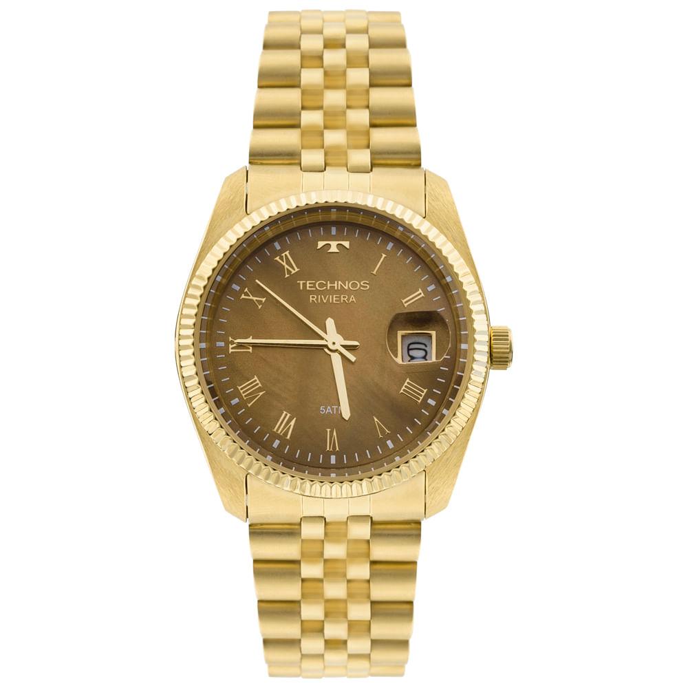 Relógio Technos Riviera Feminino GM10YA 4M - Camisaria Colombo e25b8de2ce