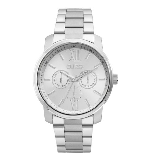 31386c1ac67 Relógio Euro Feminino Metallics EU6P29AGV 3K - Prata