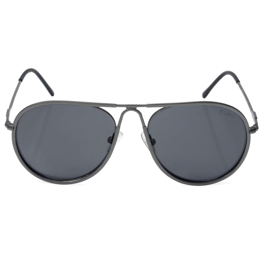 9be389707f889 Óculos de Sol Euro Feminino Aviador Grafite OC214EU 3K - Camisaria ...