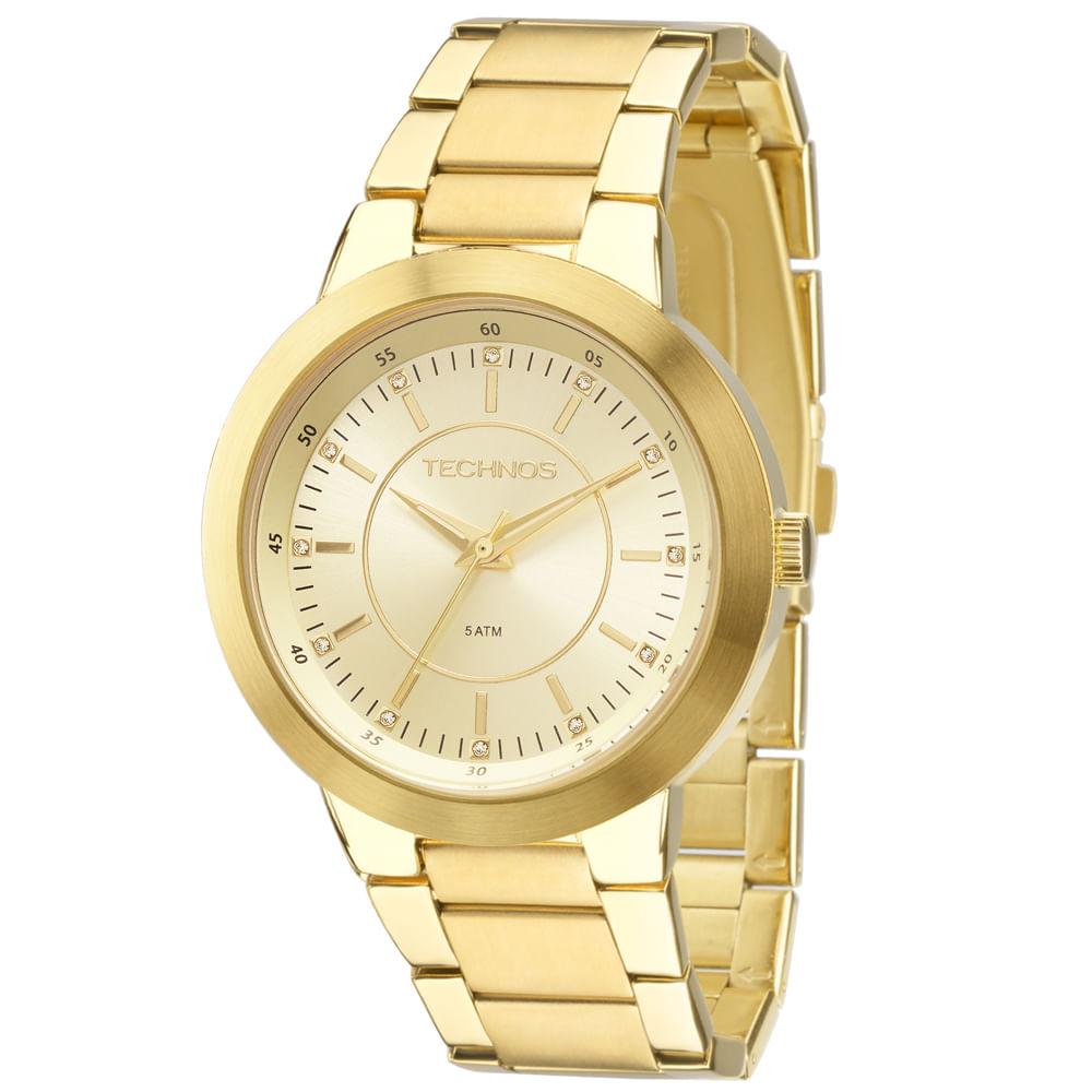Relógio Technos Feminino Ladies 2035MFF 4X - Camisaria Colombo 58c49b2336
