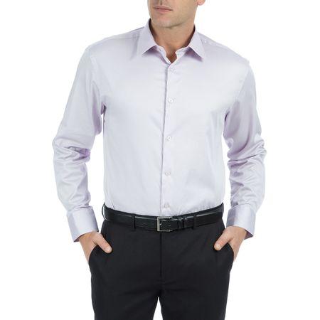 Camisa Masculina Lilás Lisa