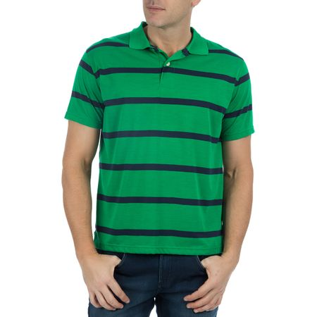 Camisa Polo Masculina Verde