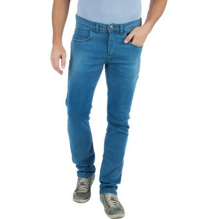 Calça Jeans Masculina em Moletom Azul