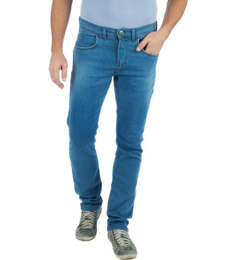 Calca-Jeans-Masculina-em-Moletom-Azul-